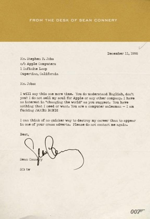 Steve Jobs Fun James Bond Design Brother